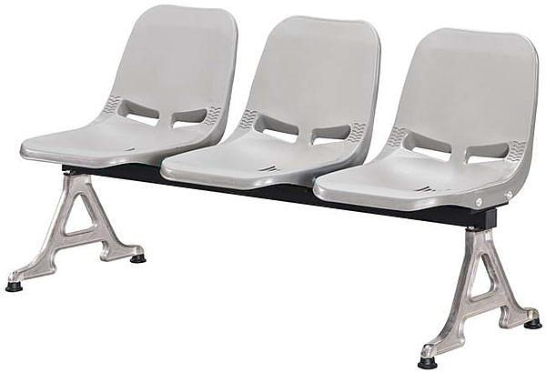 HP443-19 (A03)五人公共排椅(灰色)