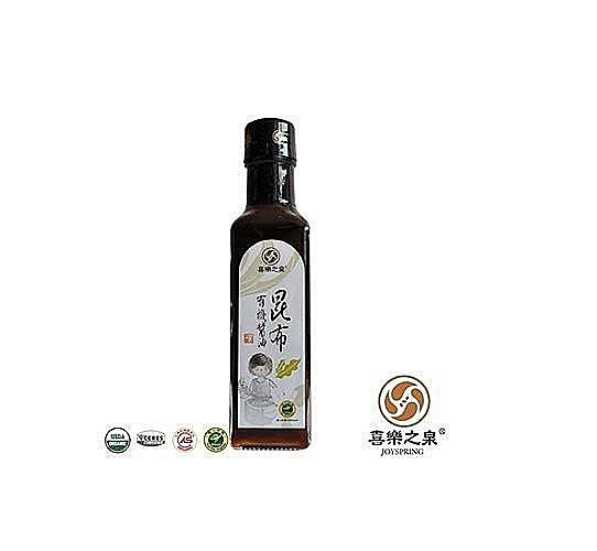 阿邦小舖 喜樂之泉 有機昆布醬油(500ml)