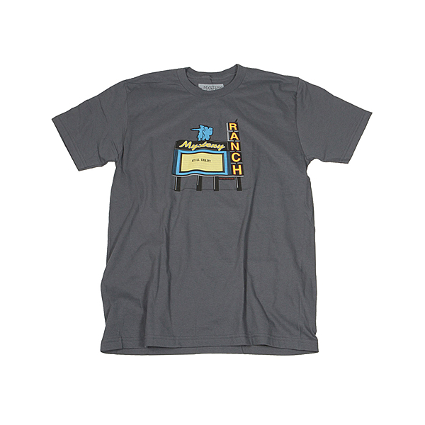 Mystery Ranch 神秘農場 Ex Lewis and Clark Tee 棉質短袖T恤 柏油灰