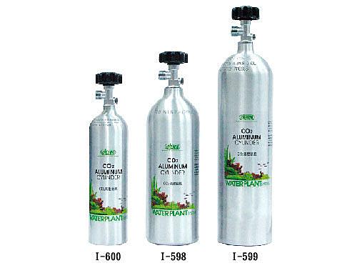 [ 台中水族 ]台灣ISTA CO2高壓鋁瓶(側開式)280mm*115mm(2.0L)  特價