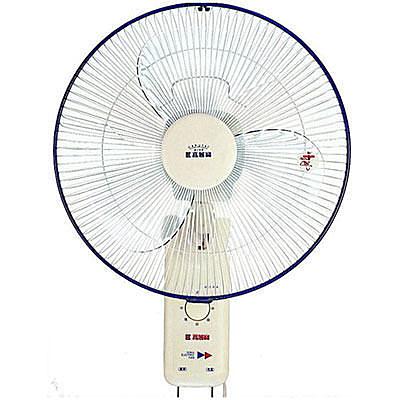 【中彰投電器】嘉麗寶(16吋//雙拉式)壁扇,SN-1601A【全館刷卡分期+免運費】