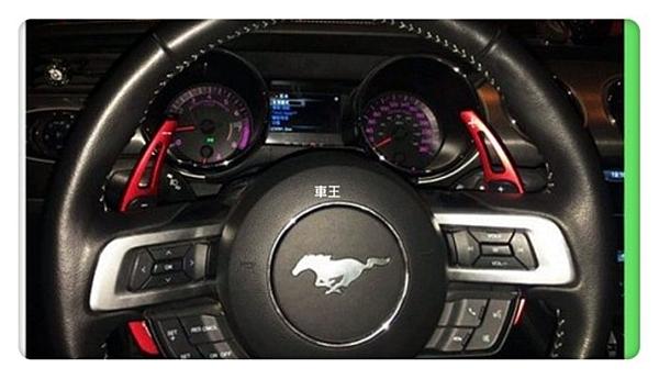 【車王小舖】福特 Ford MUSTANG 野馬 方向盤快撥 換擋 換檔撥片 快速換檔長撥片