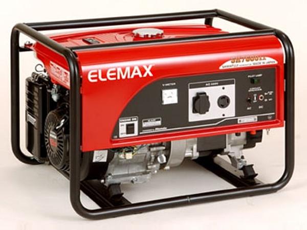 [ 家事達 ]日本原裝ELEMAX-本田引擎 手拉 發電機(110/220V) 7600W