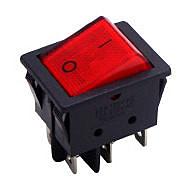 《鉦泰生活館》AC電工配件 4P2段帶燈開關 PC-7071