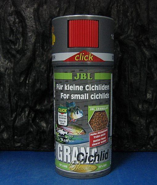 【西高地水族坊】德國JBL CICHLID短鯛燈魚增色漢堡飼料 (計數型)250ml