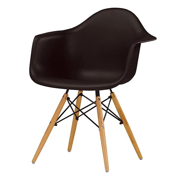 【森可家居】艾柏蒂餐椅(黑) 8CM1040-2