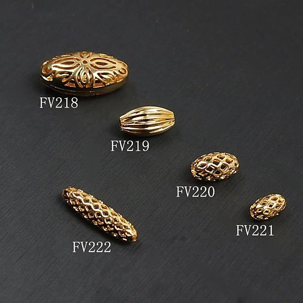 [超豐國際]DIY散珠圓珠配件鎏金直通半成品手工隔珠手鏈項鏈1入
