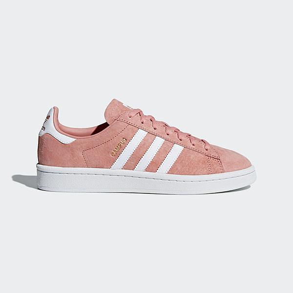 Adidas Originals Campus W [B41939] 女鞋 休閒 經典 柔軟 舒適 百搭 愛迪達 粉紅