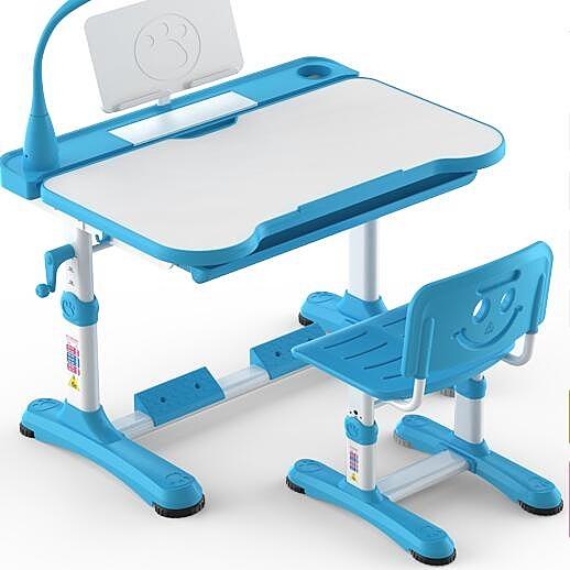限定款兒童書桌學習桌可升降兒童寫字桌椅套組組合男女孩小學生家用桌椅兒童生日禮物jj