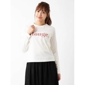 [マルイ]【セール】RougeグリッターロングTシャツ/エージープラス(a.g.plus)