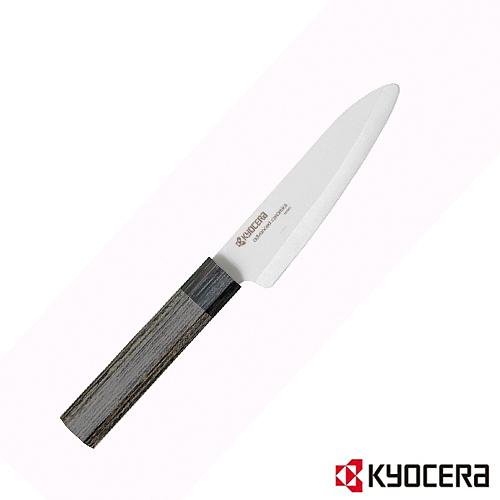 【KYOCERA】日本京瓷13公分陶瓷刀(木柄)