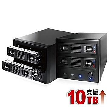 伽利略 USB3.0 1至2層抽取式硬碟外接盒-35D-U32R