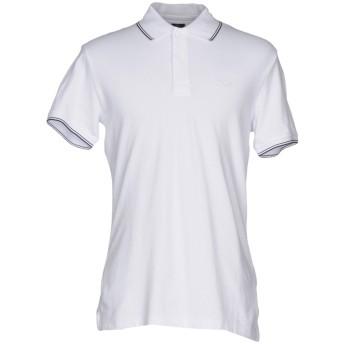 《セール開催中》ARMANI JEANS メンズ ポロシャツ ホワイト XL コットン 96% / ポリウレタン 4%