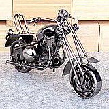 鐵質摩托車模型 太子