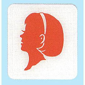 新潮指示標語系列  HS貼牌- 女廁HS-507A / 個
