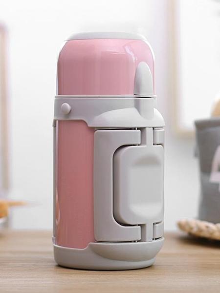 保溫瓶寶寶嬰兒外出沖奶粉便攜保溫杯家用大容量1000ml戶外暖水壺   交換禮物