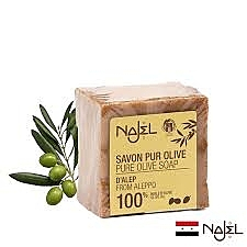 【正宗NAJEL】100%橄欖油阿勒坡皂200g 效期2026【淨妍美肌】