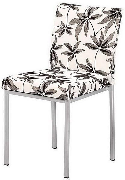 HP688-06 伯爵餐椅(浮雕柳葉RR1-4布)-烤銀