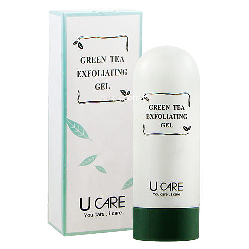 U CARE 綠茶去角質凝露100ml