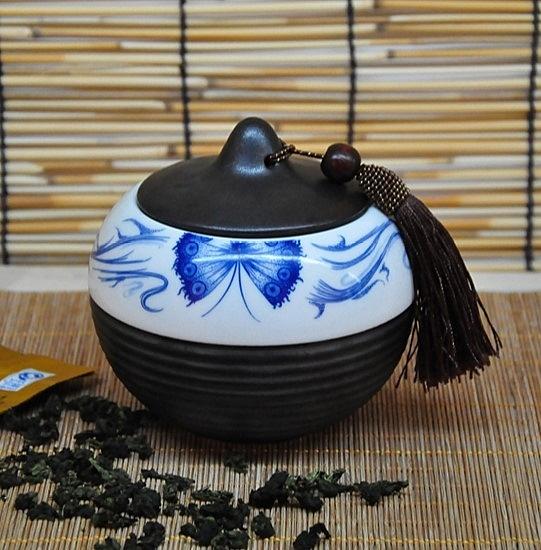 瓷鐵鏽茶葉罐密封罐