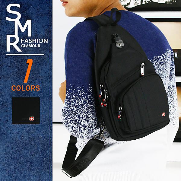 包包-3拉鍊休閒斜背包-新潮實用百搭款《7925150》黑色【現貨+預購】『SMR』