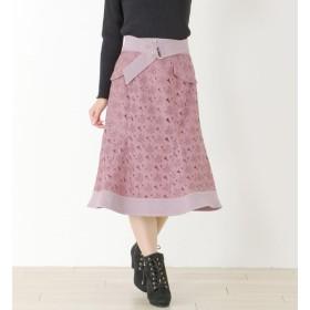 【ミッシュマッシュ/MISCH MASCH】 レースマーメイドスカート