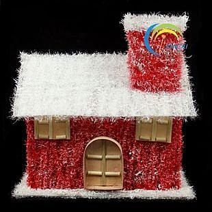 精致聖誕雪屋