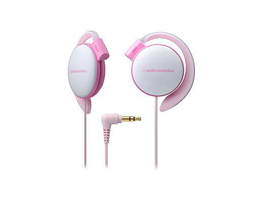 【台中平價鋪】 全新 鐵三角 ATH-EQ500 耳掛式耳機  軟質耳墊 淺粉紅 台灣鐵三角公司貨