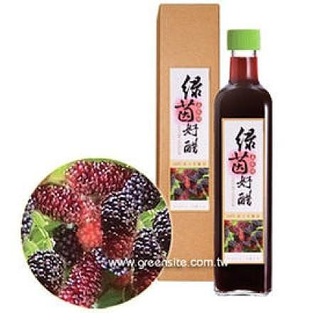 綠茵好醋 桑椹醋 (530ml)  6瓶  夏季好喝飲品