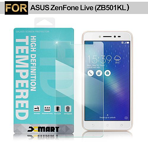 XM  ASUS ZenFone Live ZB501KL 5吋 薄型 9H 玻璃保護貼(非滿版)