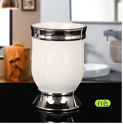 高檔創意  陶瓷洗漱杯套裝 4