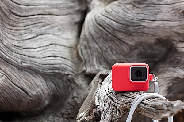 【EC數位】GoPro 矽膠護套 紅色 HERO5 HERO6 HERO7 附繩保護套 限定 保護套 ACSST-005