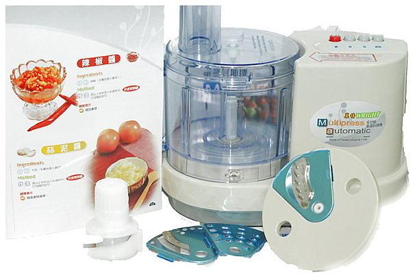 廚師的最愛~WRIGHT萊特多功能果菜料理機,WT-9308/WT9308《刷卡分期+免運費》