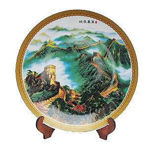 景德鎮陶瓷 家居裝飾 盤子 35cm