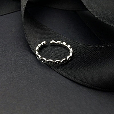 戒指 925純銀-氣質愛心生日情人節禮物女開口戒73ic29【時尚巴黎】