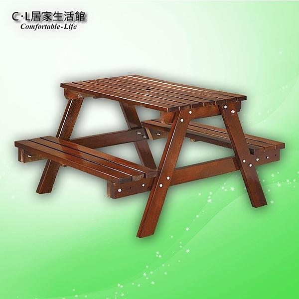 【 C . L 居家生活館 】Y834-5 4尺啤酒桌(胡桃實木)