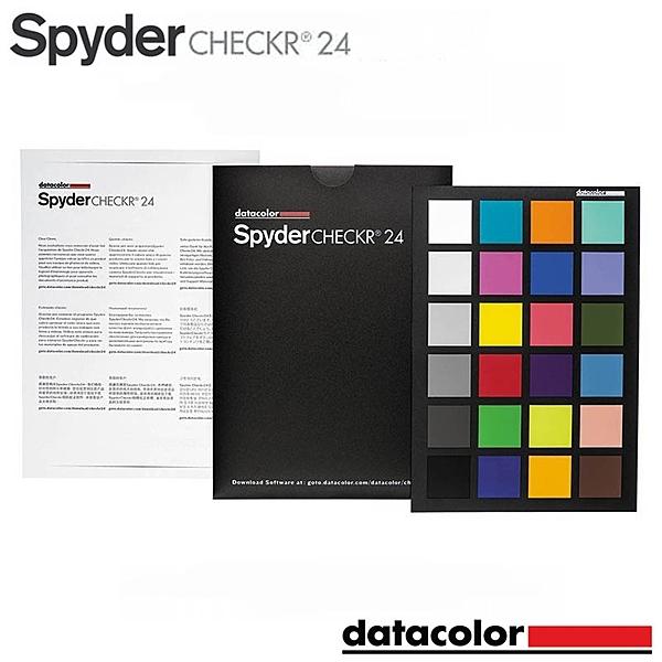黑熊館 Datacolor Spyder Checkr 24 智慧色彩調整工具 白平衡 螢幕校色 色彩校準 24色