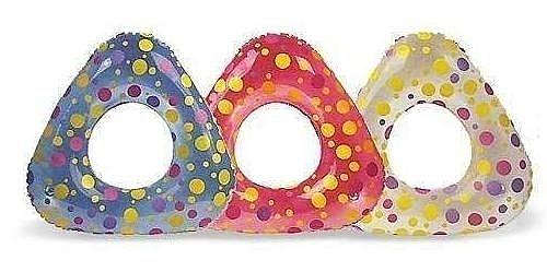[衣林時尚] INTEX 65cm X 62cm 三角造型泳圈 建議3-6歲 58246 特價品 顏色隨機出