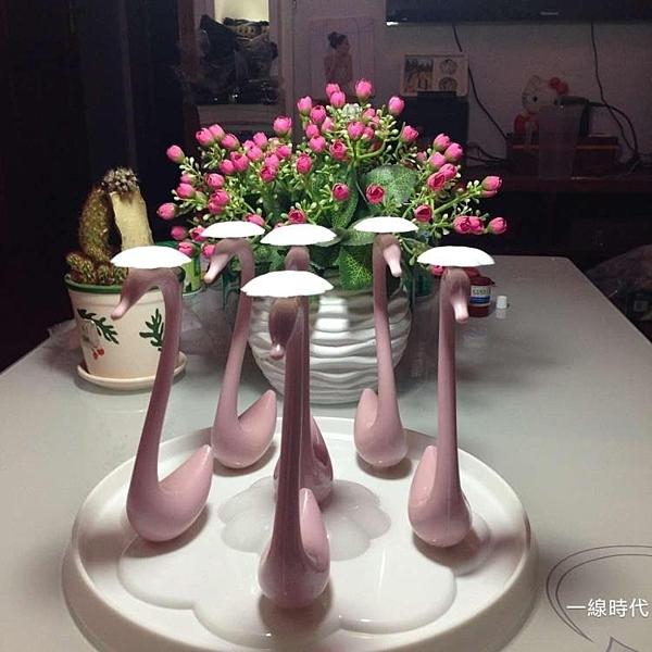 玻璃水杯掛架茶收納架瀝水創意水子置物架瀝水盤【【八折搶購】】