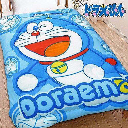 【Jenny Silk名床】哆啦A夢.百變哆啦.雙面花色.保暖毛毯被.全程臺灣製造