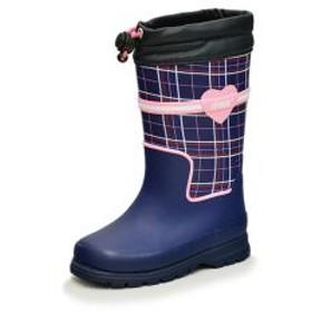 10%OFFクーポン対象商品 レインブーツ キッズ 長靴 イフミー IFME ながくつ イフミー99 女の子 男の子 子ども/雨靴 子供靴 15-19cm ネイビー/80-9725 クーポンコード:KZUZN2T