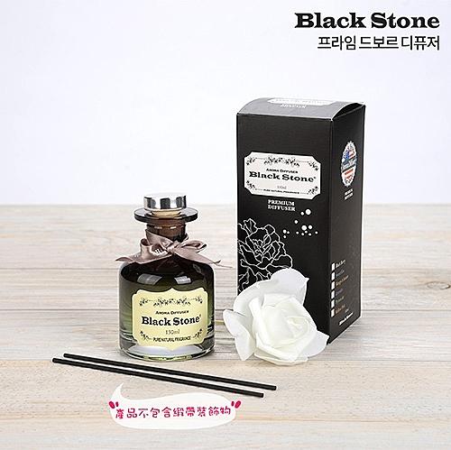 韓國 BLACK STONE 室內擴香瓶 130ml (附裝飾花+擴香棒)【新高橋藥妝】多款可選