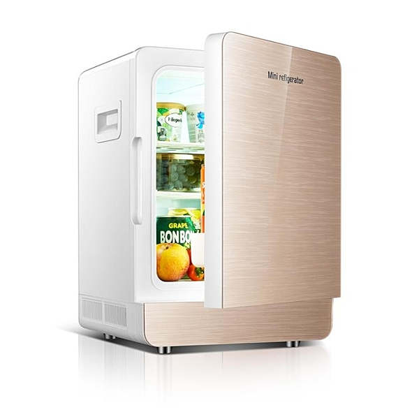 20L迷你冰箱車載冷暖小冰箱迷你小型家用學生宿舍微型冰箱單雙門-享家