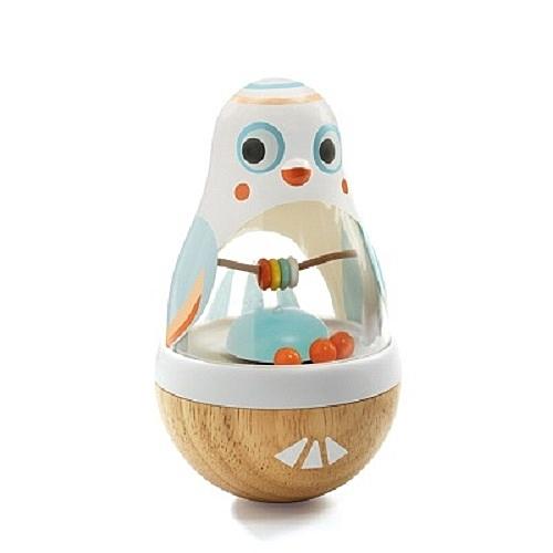 法國 智荷 DJECO 小鳥波利[寶寶玩樂]-(木製玩具)