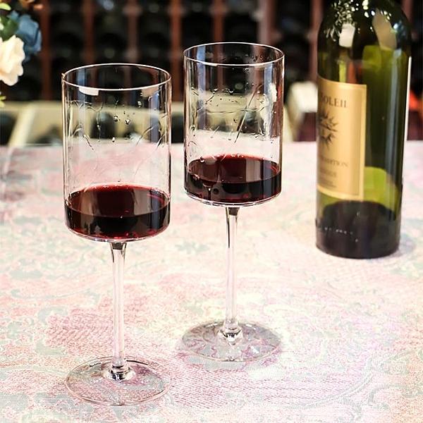 紅酒杯 歐式家用水晶杯2個一對奢華大號葡萄酒玻璃酒具 - 古梵希