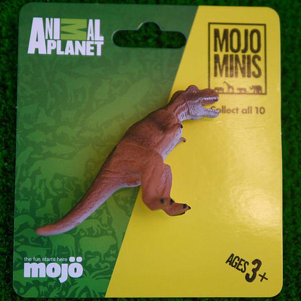 《MOJO FUN動物模型》動物星球頻道獨家授權 -迷你暴龍
