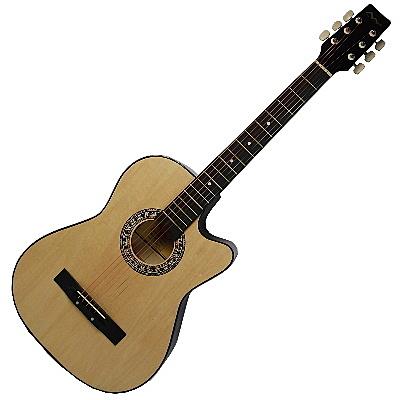 【奇歌】免運+好音質推薦!►38吋 木吉他 送琴袋+全配,民謠吉他 烏克麗麗 吉他