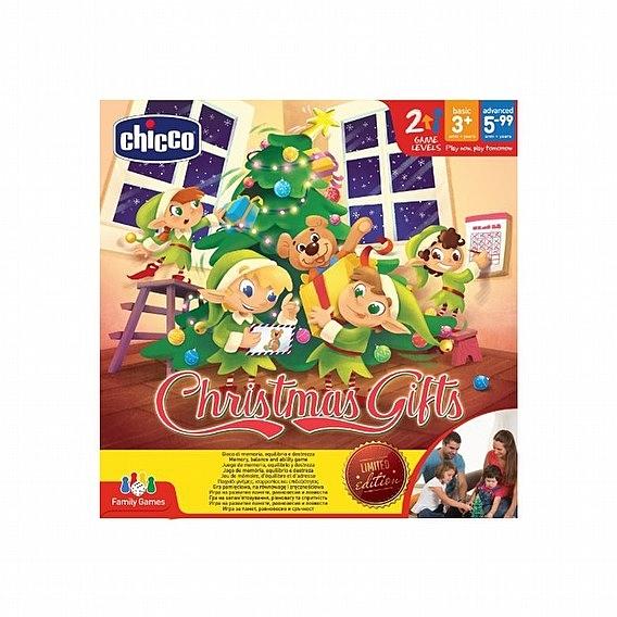 小饅頭**Chicco 親子益智桌遊-搖搖聖誕樹(8058664093649)*特價810元