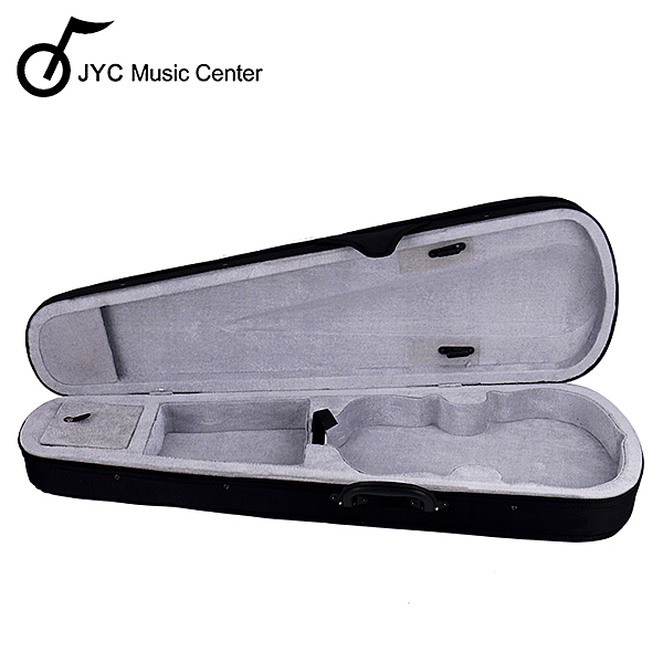 JYC Music 小提琴三角琴盒4/4(淺灰)~限量出清