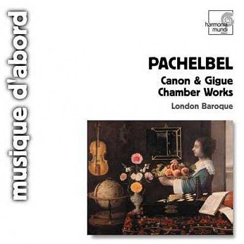 【停看聽音響唱片】【CD】帕海貝爾:卡農與基格舞曲、室內樂曲